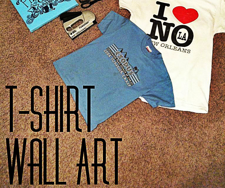 T-Shirt Wall Art