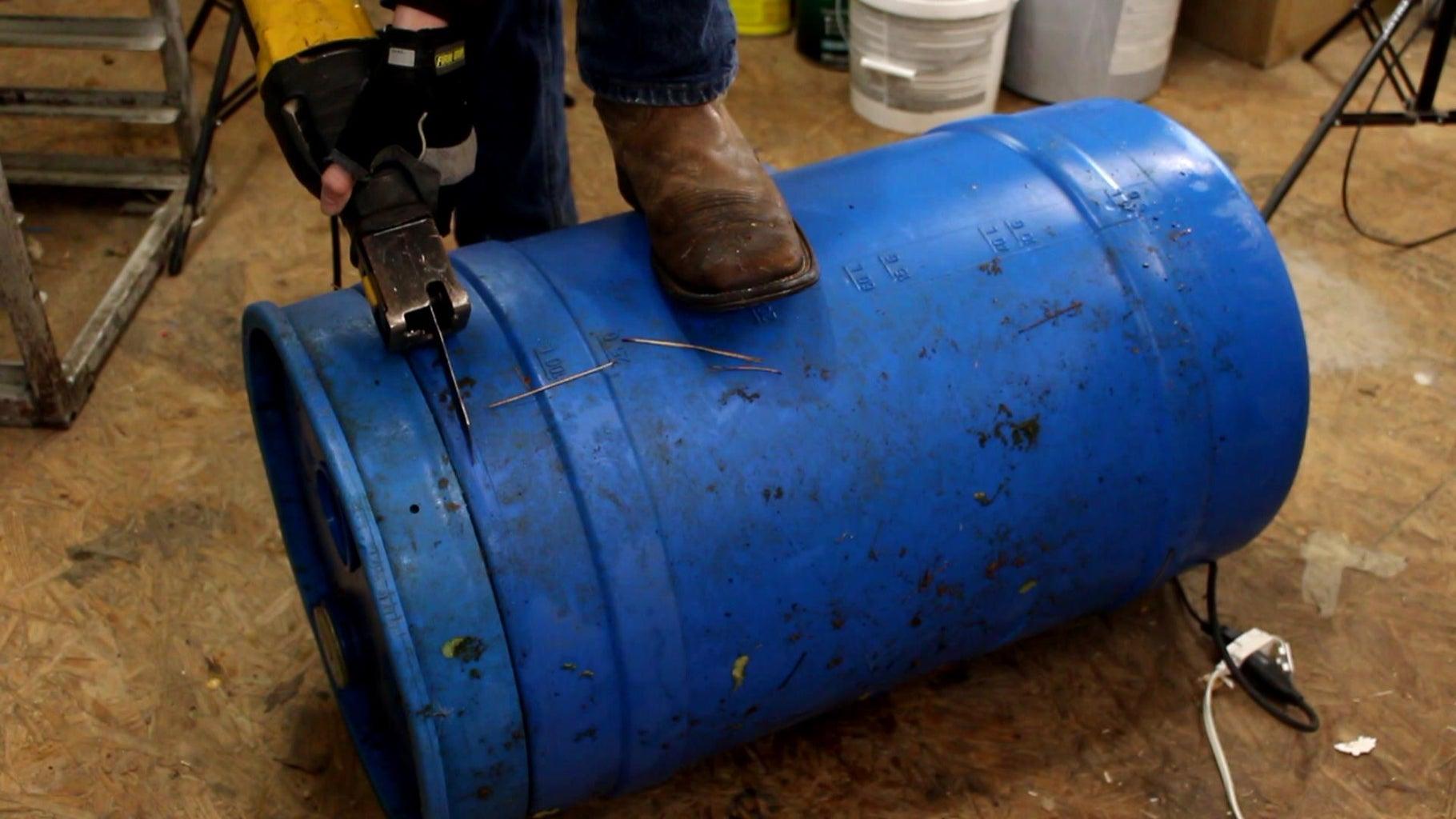 Cut Apart Barrel