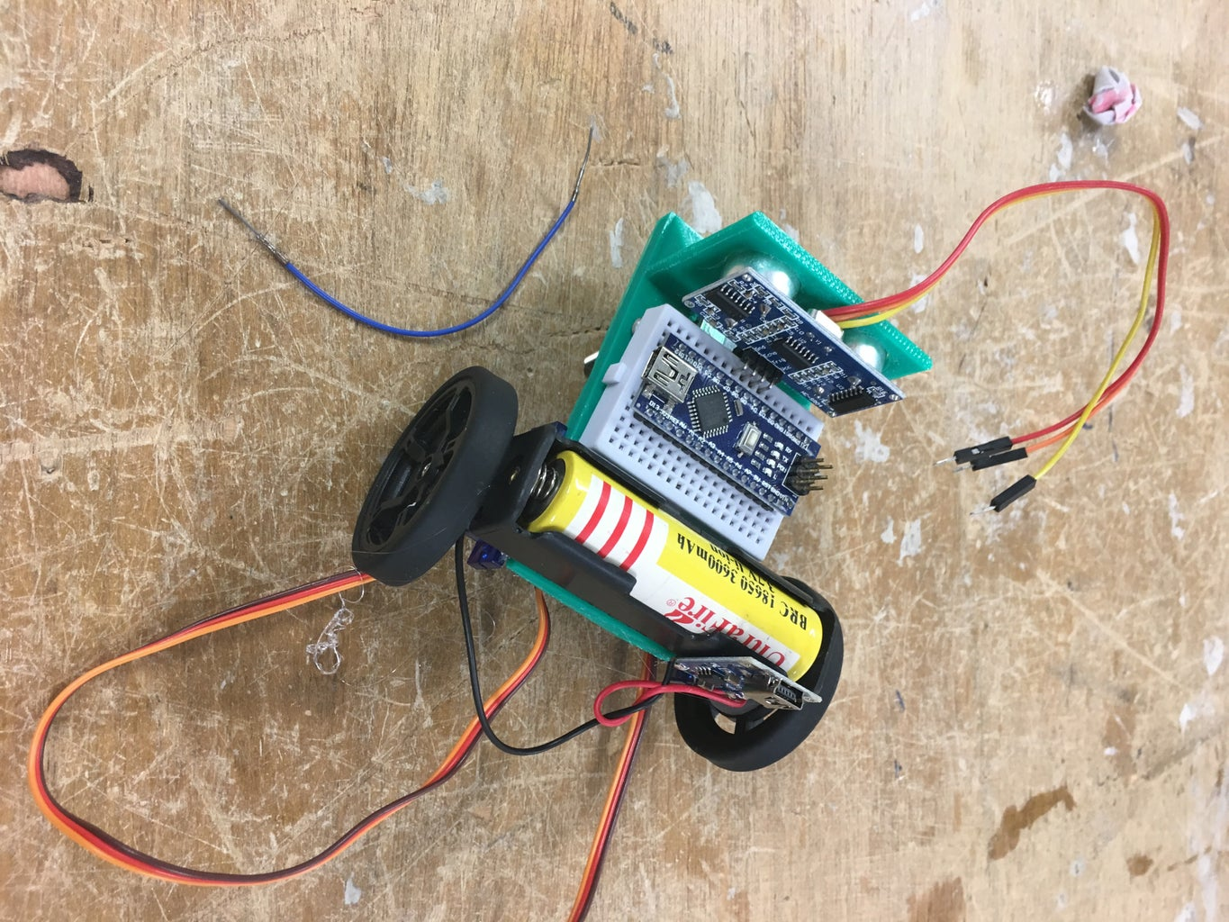 Creating the Battery Management Circuit and Adding It to the Chasis