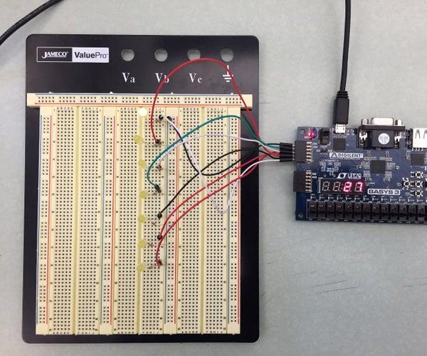 FPGA LED Control Project