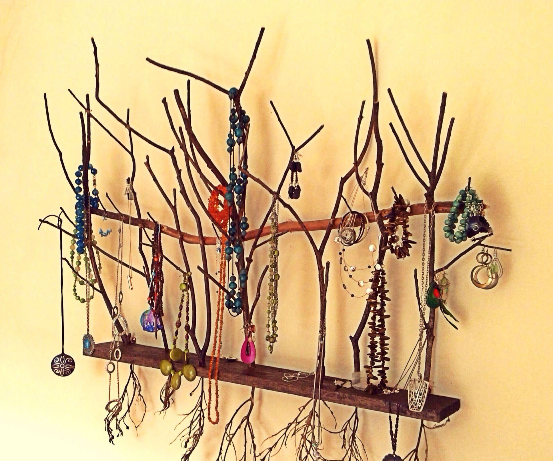 Necklace Tree Wall Art
