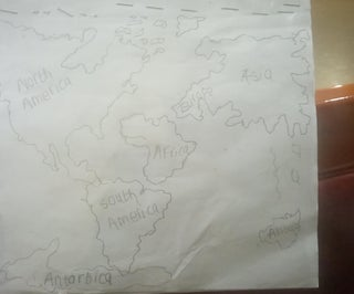 World Map Reminder