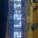 LED-Matrix-Uhr