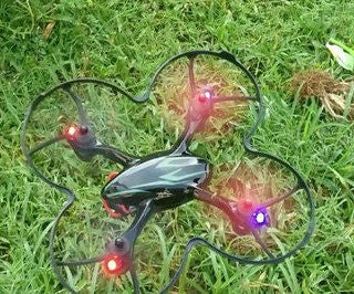 SIMPLE QUADCOPTER ( HUBSAN X4 )