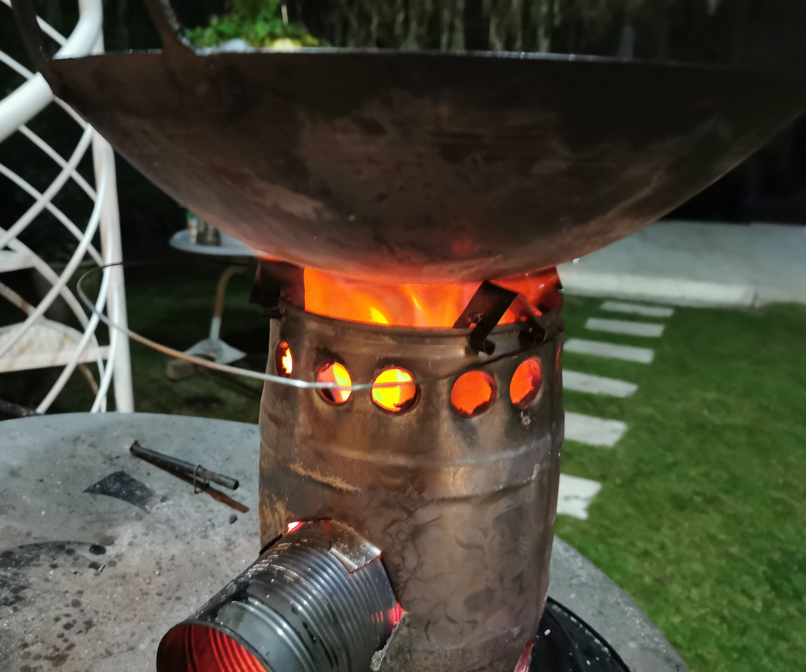5L Beer Can Stove 2.0 From All Scrabs