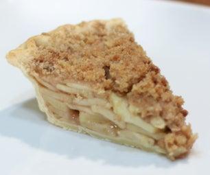 苹果馅饼碎屑