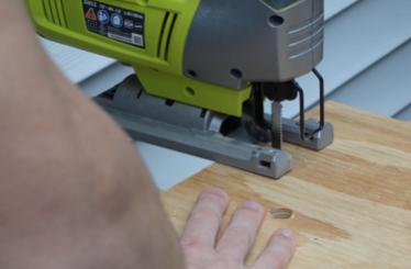 Wood Elements: Window Base, Wood Anchors and Camera Box