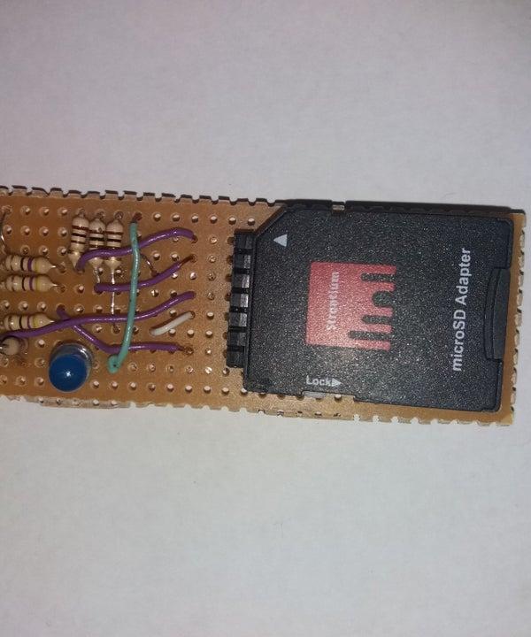 Cheap Arduino SD Card Reader