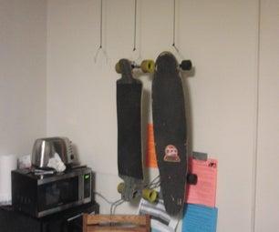 Dorm Room Skate Rack