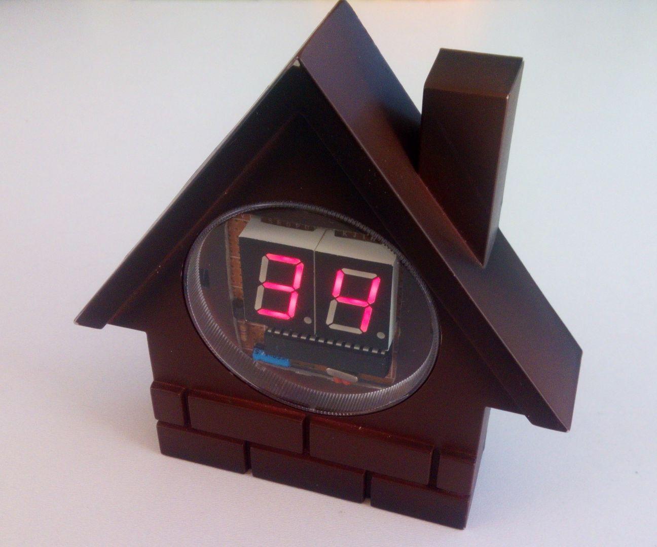 Seven Segment Display Thermometer - Arduino Based