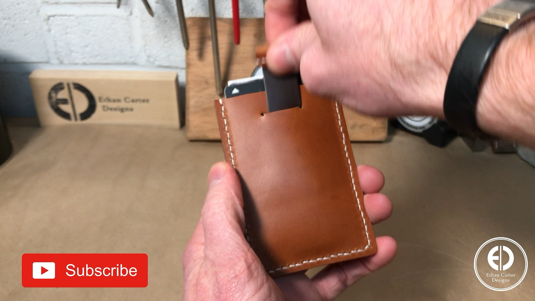 Finishing the Edges…and the Wallet