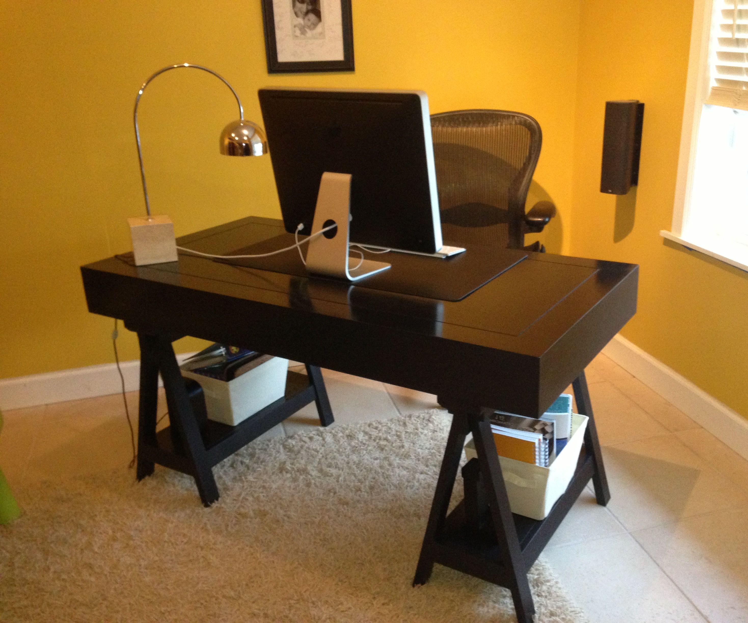 Campaign Sawhorse Desk