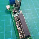 Un Arduino Barebone más de tamaño reducido
