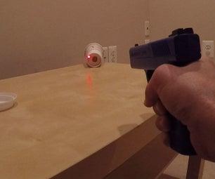 Coffee Cup Laser Shooting Target