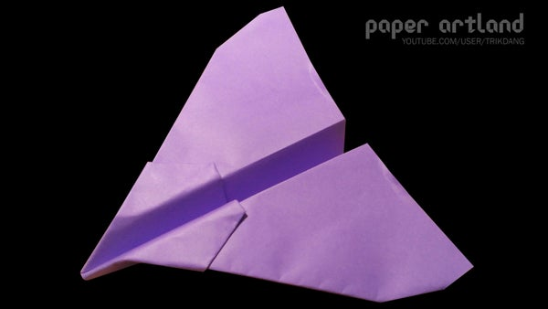 Paper Airplane Tutorial: the Vulture | Long Distance | Difficulty Level 1/5