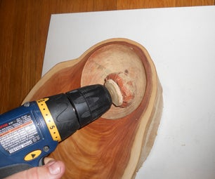Quick and Dirty Sanding Ball