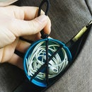 Easy Upcycled Earbud Holder