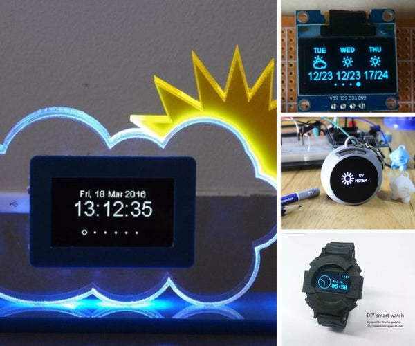 15 Cool OLED Display Projects