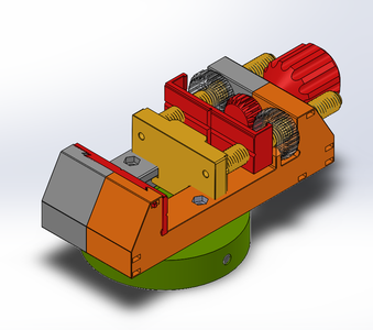Redesign Vise in Software to Connect With Vacuum