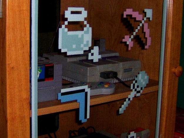 Door Glass Pixel Art