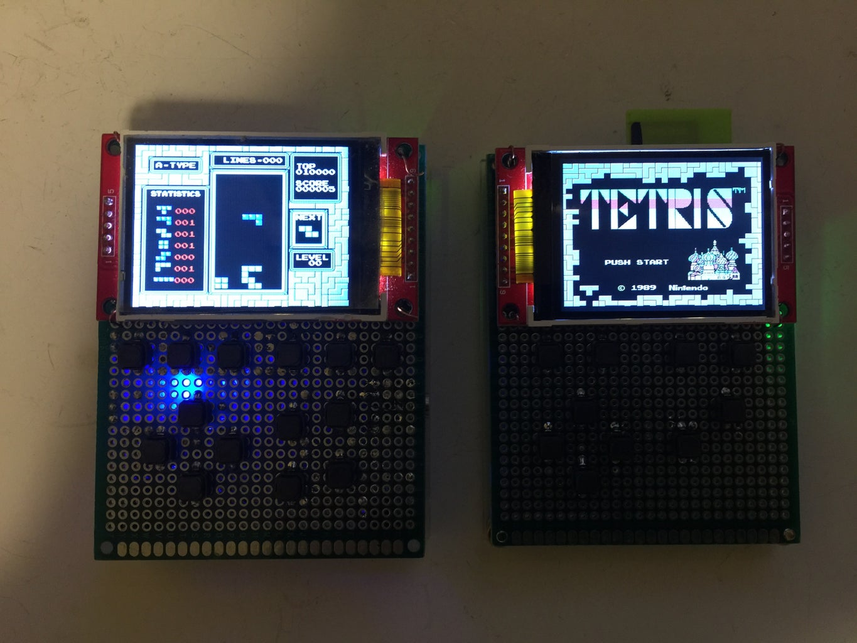 Handheld Recalbox Game Console Using 2.2 TFT
