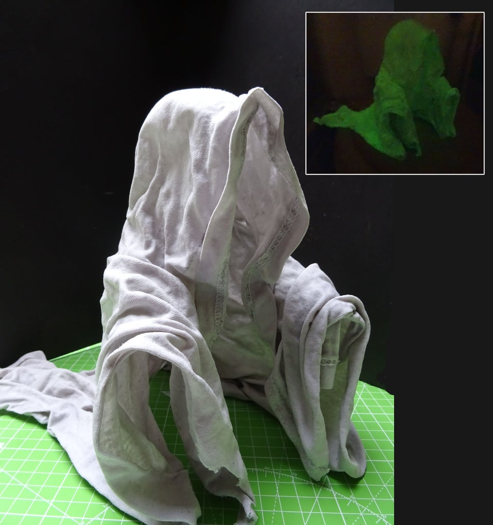 Glow in the Dark Cloth Ghost