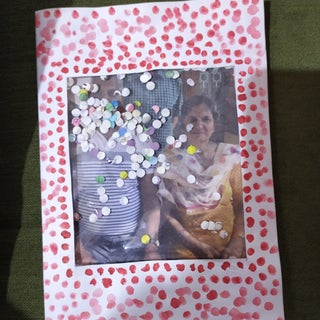A SIMPLE CARD /PICTURE FRAME