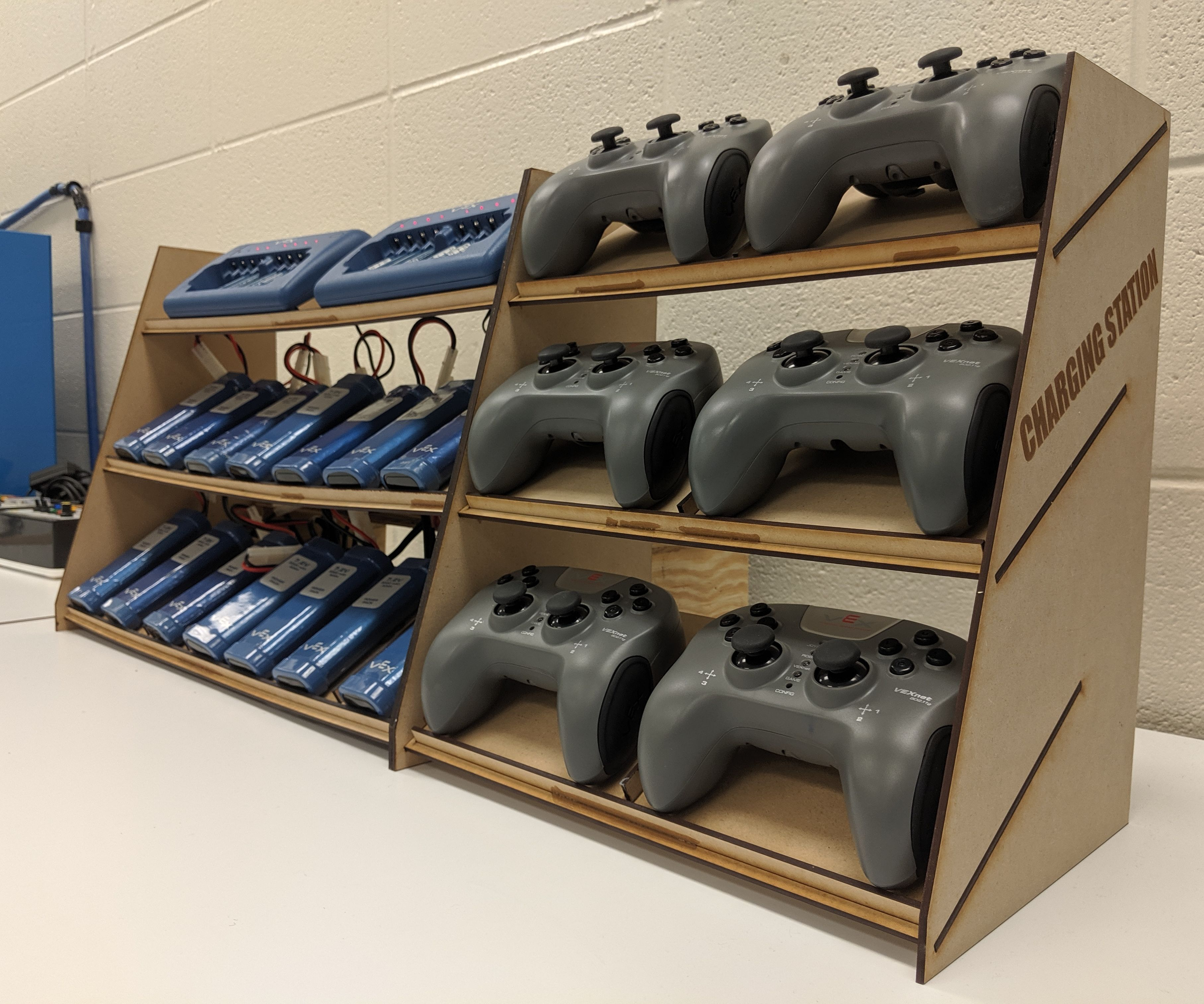 Classroom Robot Battery Station