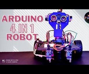 Arduino 4in1机器人项目