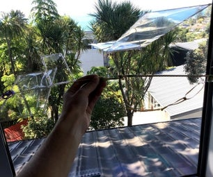 Rubber Band Powered Flying Airplane