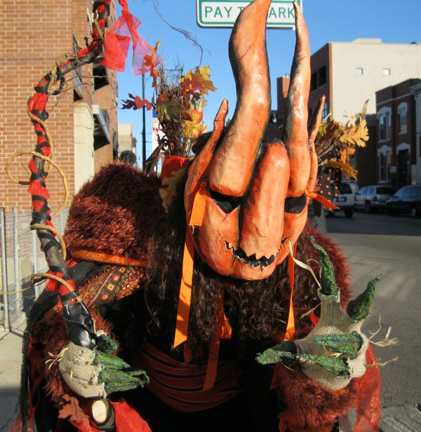 The Great Pumpkin Halloween Costume
