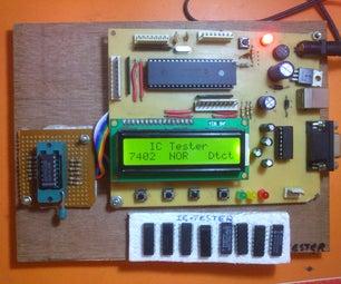 Digital Ic Tester Using Pic Microcontroller