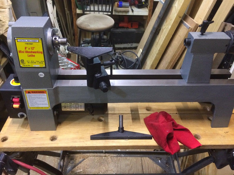 Making a Lathe Bench