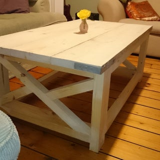 Build a Rustic Coffee Table