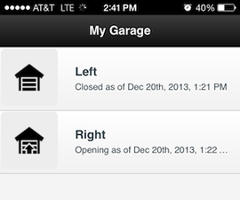 Open Source Garage Door Controller / Monitor