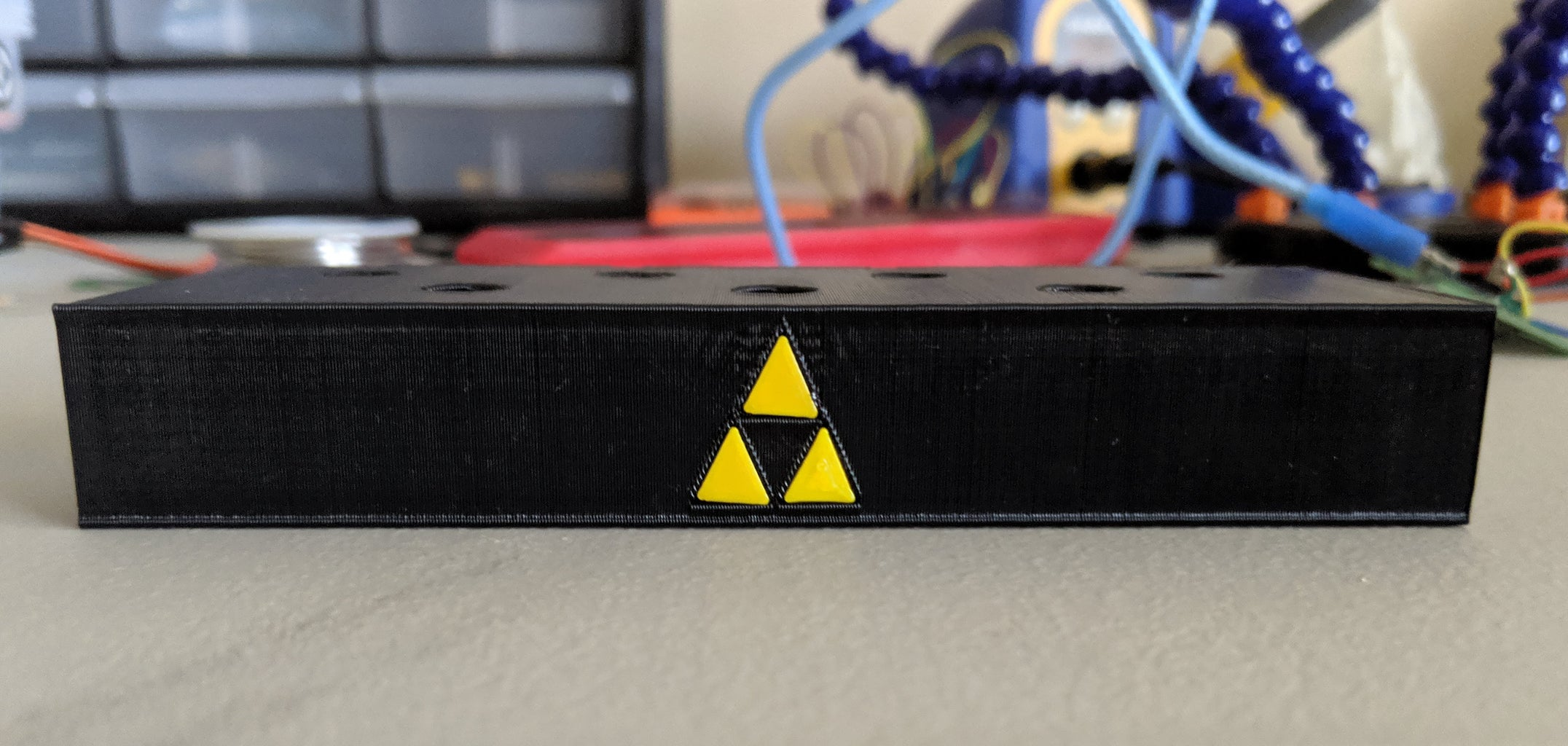 Print and Attach the Triforce Pieces