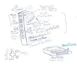 """Basiliscus """"α"""". Mandalorian's Basilisk W/ Raspberry Pi Hardware and Raspbian OS"""