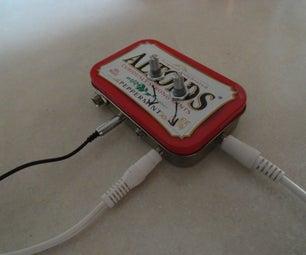 Altoids Tin Audio Mixer