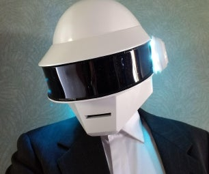 The Complete Daft Punk Helmet Build (Arduino Style)