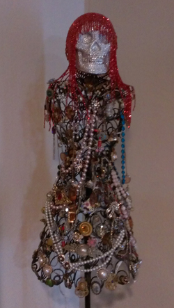 Dress Form and Jewelry Light