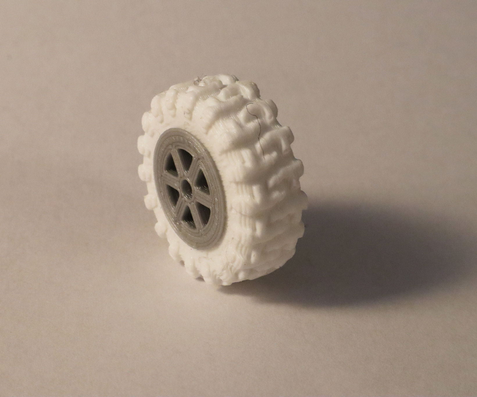 Grippy, Hollow, Silicone Tires for Robots and RC