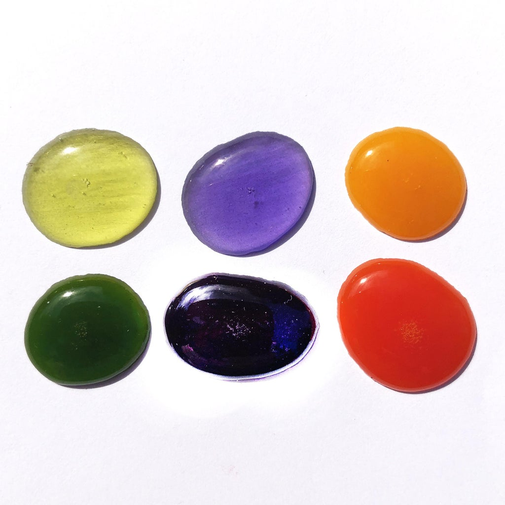 Secondary Colors - Transparent Vs. Opaque
