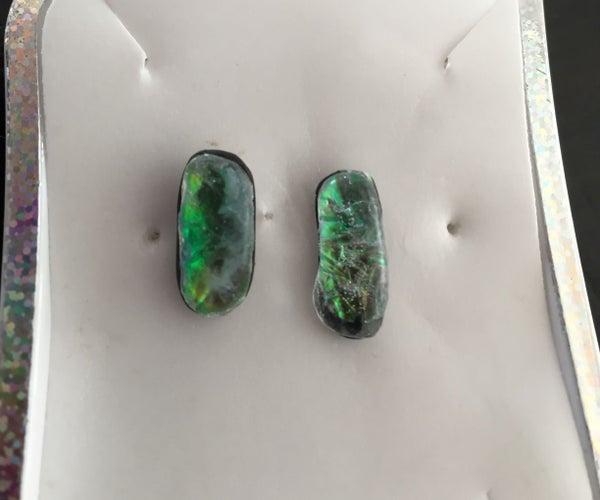 Easy Opal Earstuds