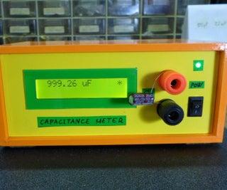 DIY Simple Arduino Autorange Capacitance Meter(10pF-10000MicroF)