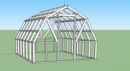 DIY GreenHouse Build- Solid Structure