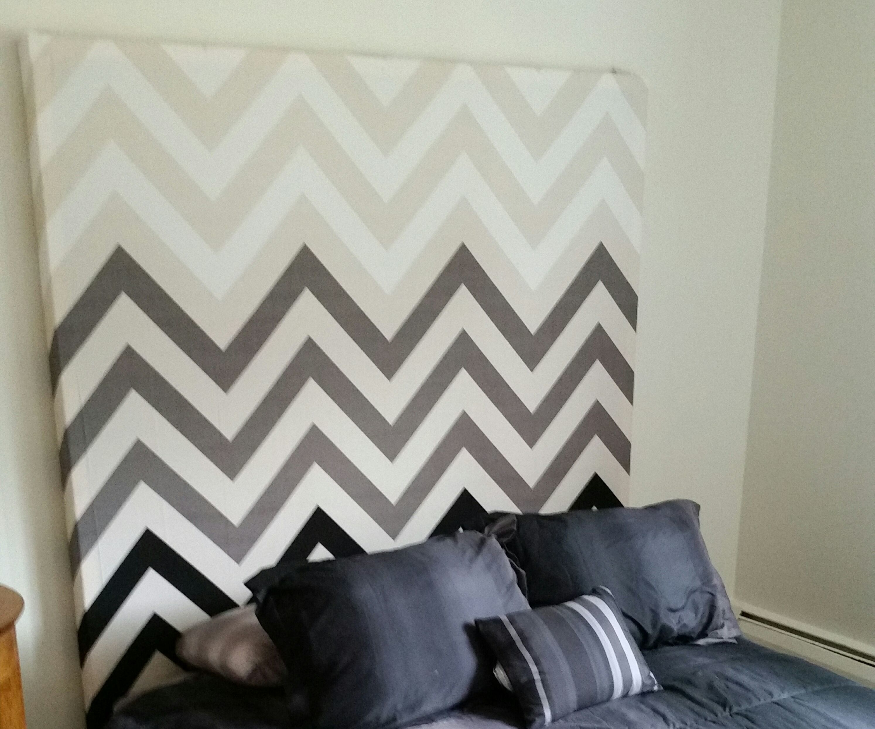 Easy DIY Decorative Headboard