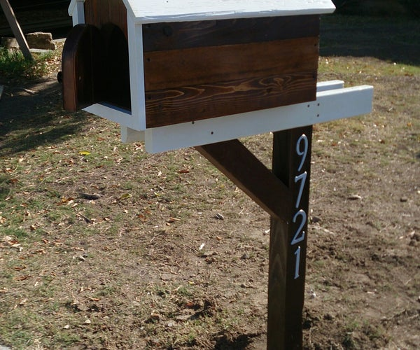 How to Build a Pallet Mailbox