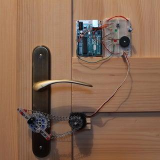 Secret Knock Detecting Door Lock