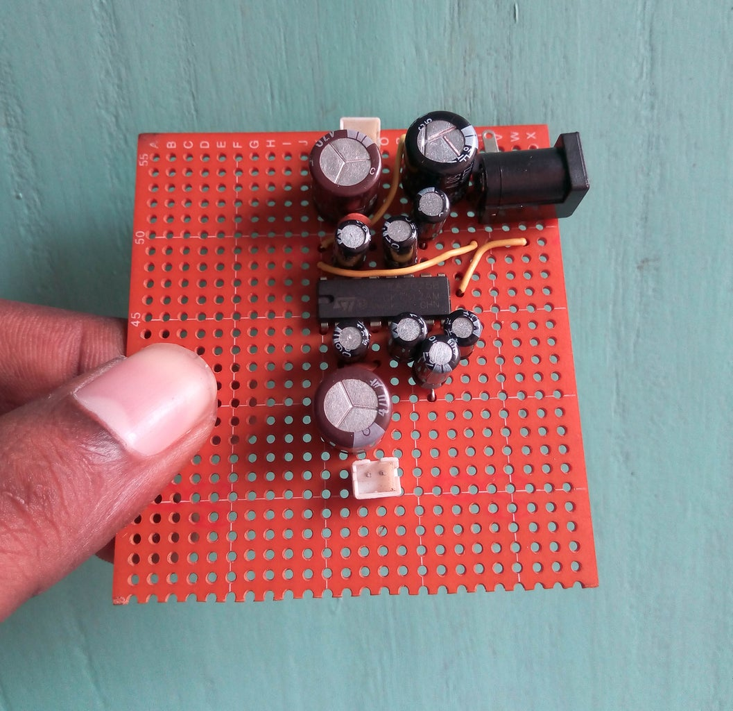 Testing the Circuit With Speaker