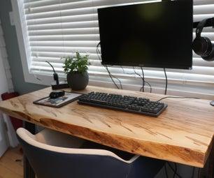 如何制作直播桌